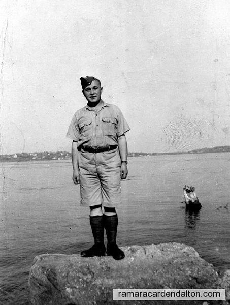 Dick Butler, WWII