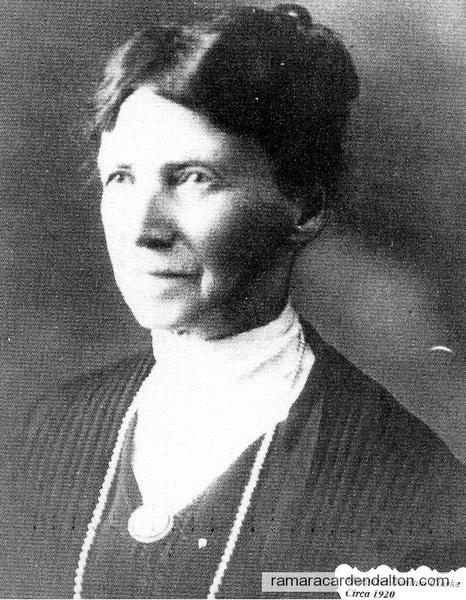 Margaret Clarke (nee Boulton), circa 1920