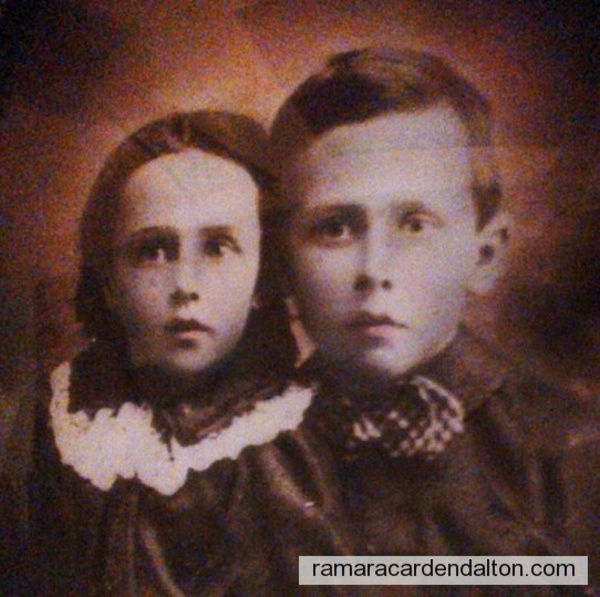 Elizabeth & John Crosby, circa 1895