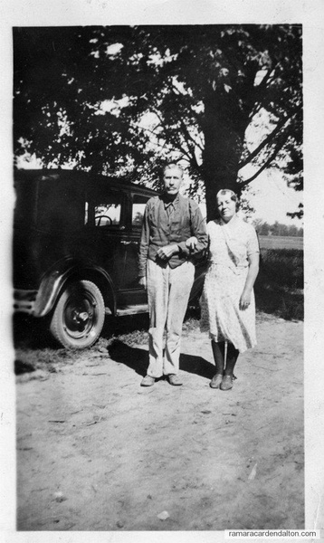 Frederick William and Harriet Winnifred Lamb