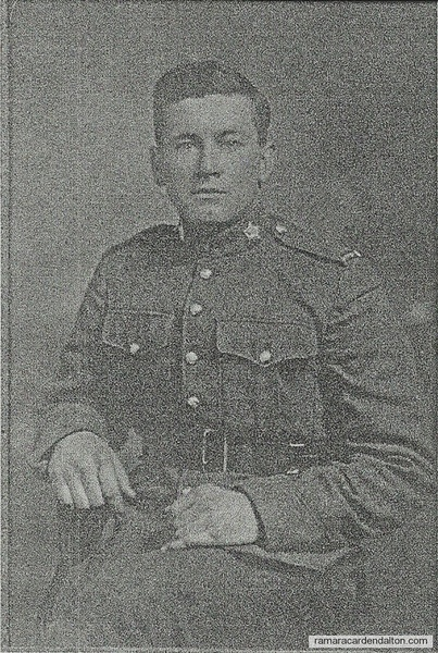 Pte. Percy Justin  1898- 1962