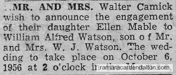 Ellen Camick Engagement