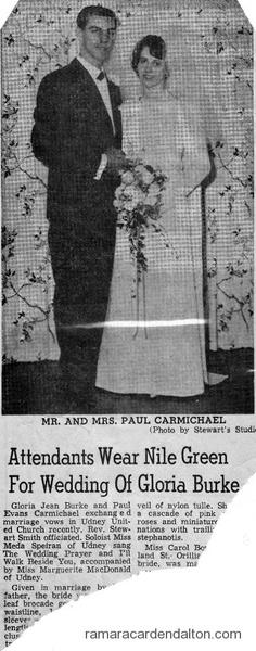 Gloria Burke & Paul CarMichael