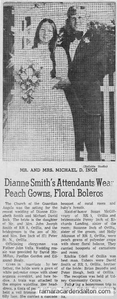 Michael & Dianne Smith Wedding