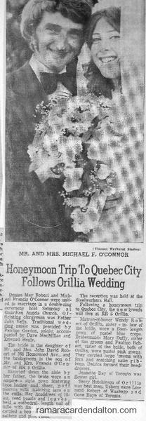 Michael O'Connor Wedding