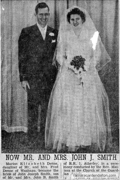 Mr. & Mrs. John J. Smith