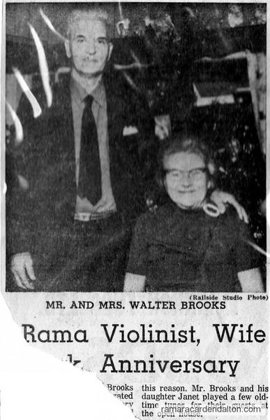 Mr. & Mrs. Walter Brooks