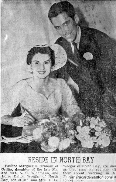 Pauline Graham & Edric Weegar