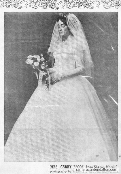 Sharon Morris Wedding