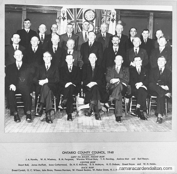 Ontario County Council 1948
