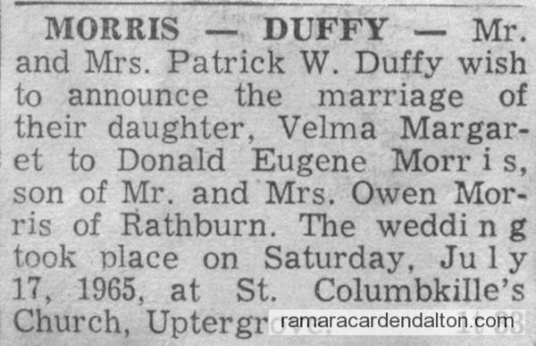 Mr. & Mrs. Donald Eugene Morris-2