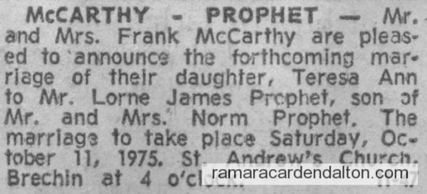 McCarthy-Prophet