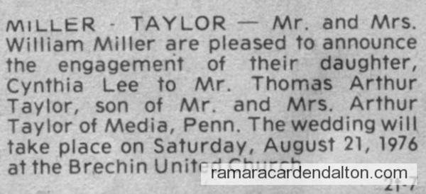 Miller-Taylor