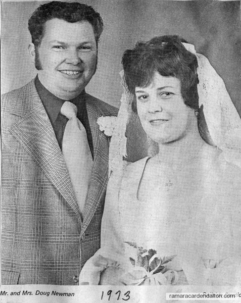 Mr. & Mrs. Doug Newman-1973