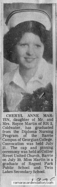 Cheryl Ann Martin-1978