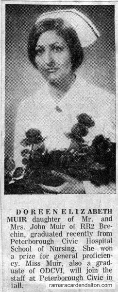 Doreen Elizabeth Muir-June 1972