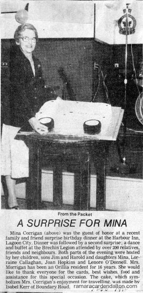 Mina Corrigan-Nov. 1980