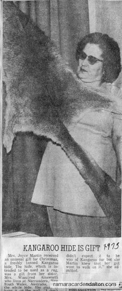 Mrs. Joyce Martin-1973