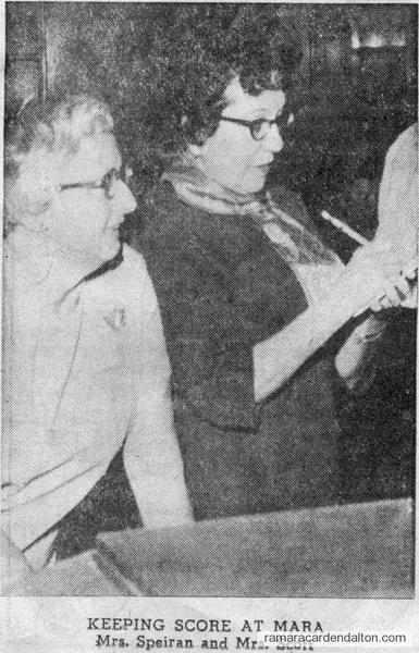 Mrs. Speiran-Mrs. Scott