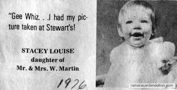 Stacey Louise Martin-1976