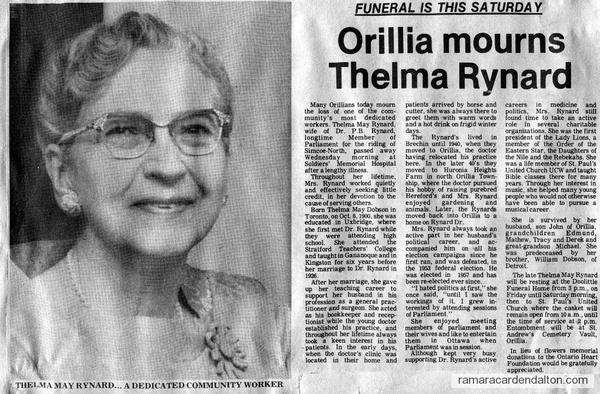 Thelma May Rynard