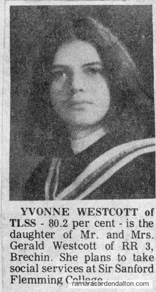 Yvonne Westcott