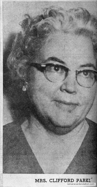 Mrs. Clifford Park
