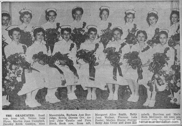 Nursing Graduates-1957