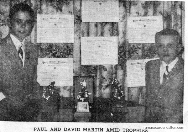 Paul & David Martin