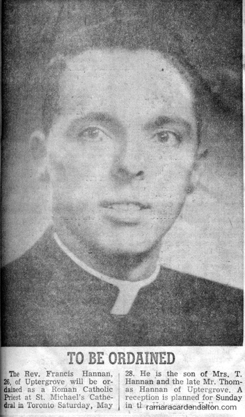 Rev. Francis Hannan