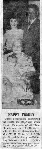 Three Generation of Edwards
