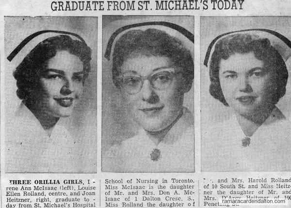 Three Nursing Graduates