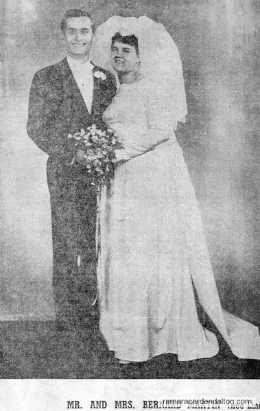 Mr. & Mrs. Bernard Martin