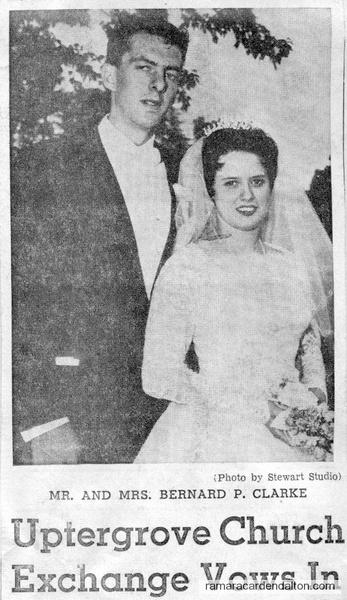 Mr. &  Mrs. Bernard P. Clarke