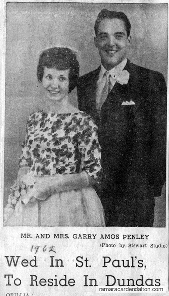 Mr. &  Mrs. Garry Amos Penley