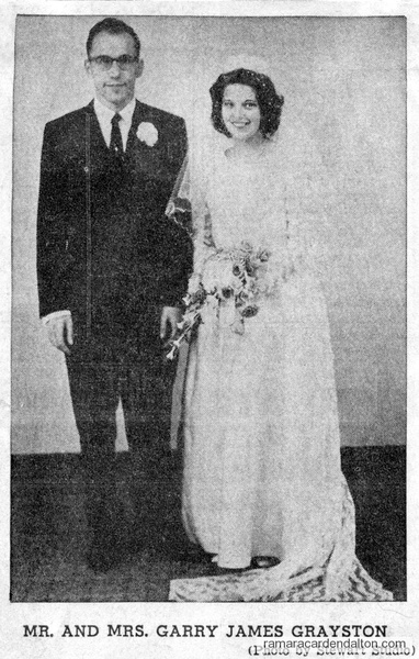 Mr. & Mrs. Garry James Grayston