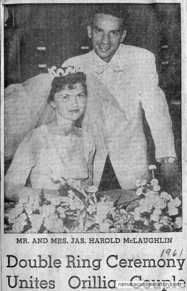 Mr. &  Mrs. Jas. Harold McLaughlin