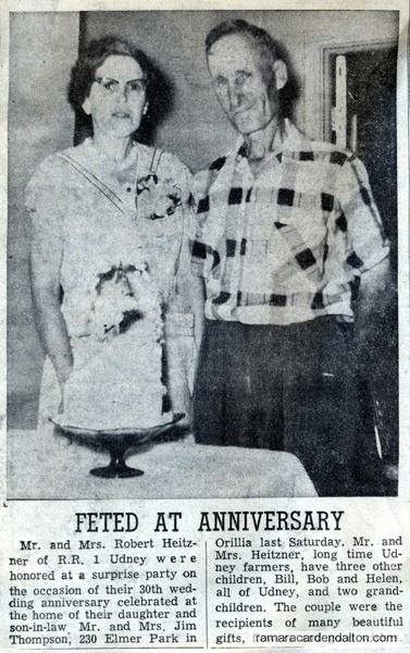 Mr. &  Mrs. Robert Heitzner