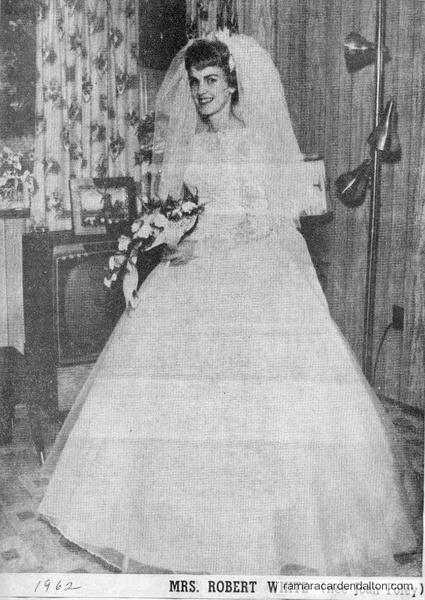 Mrs. Robert White (nee Joan Foley)