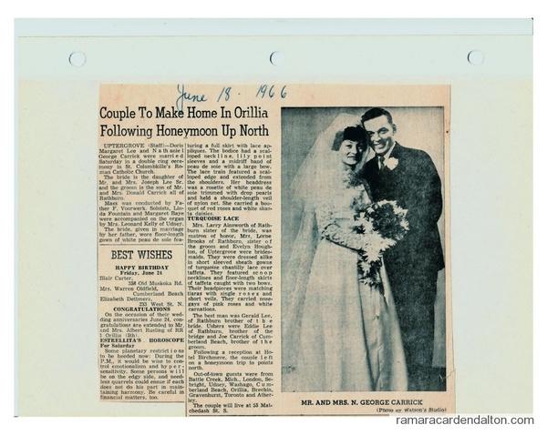 George and Doris Carrick