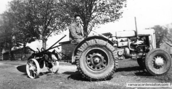 Don Murphy and Sliver King tractor
