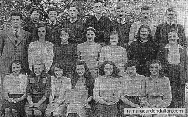 Beaverton Continuation School , Class of 1945