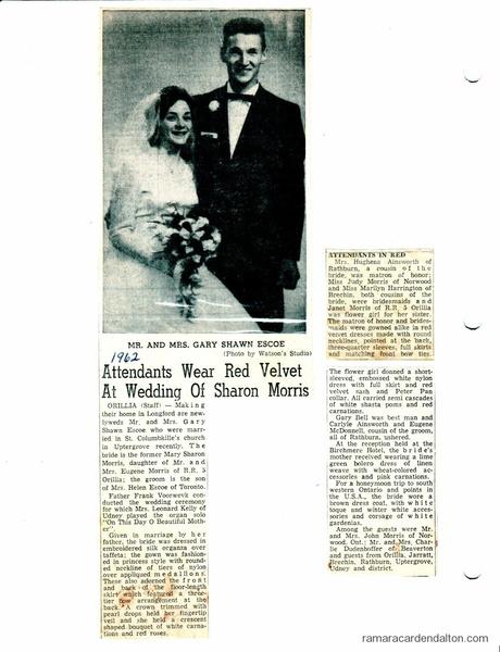 Mr --Mrs Gary Escoe