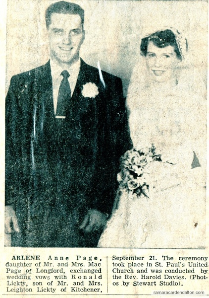 Mr--Mrs Ron Lickty