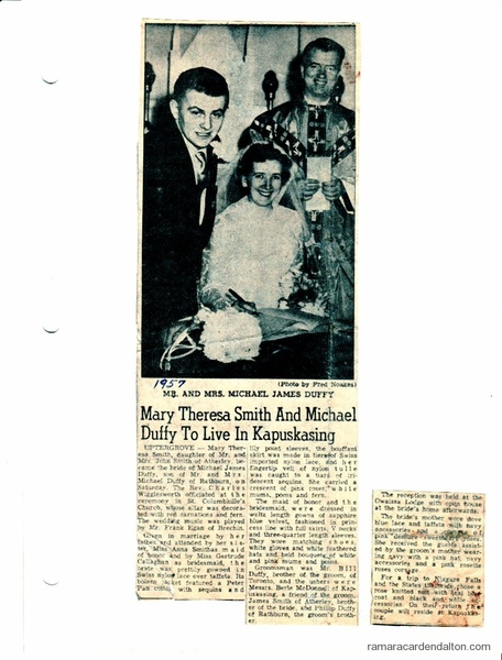 Mr--Mrs Michael Duffy