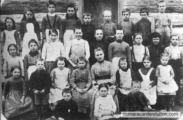 S.S. #8, c. 1890