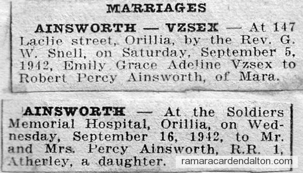 Ainsworth-Vyse