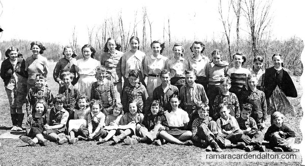 S. S. #6, Fairvalley, Class of 1950