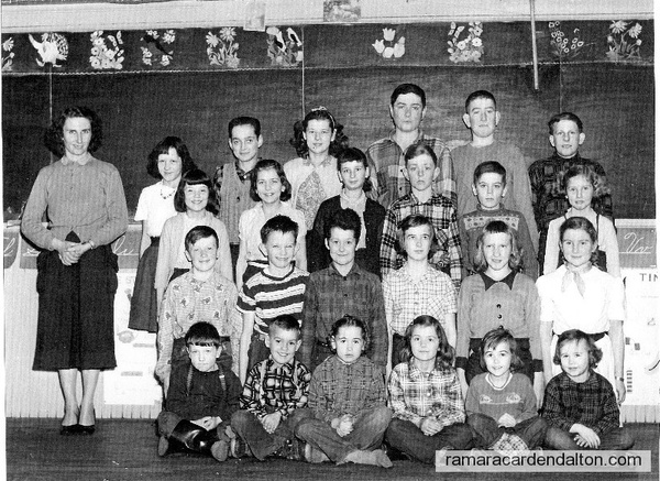 S. S. #6, Fairvalley, Class of 1955