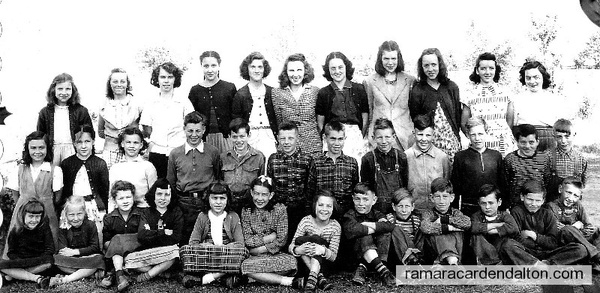 S. S. #6, Fairvalley, Class of 1949